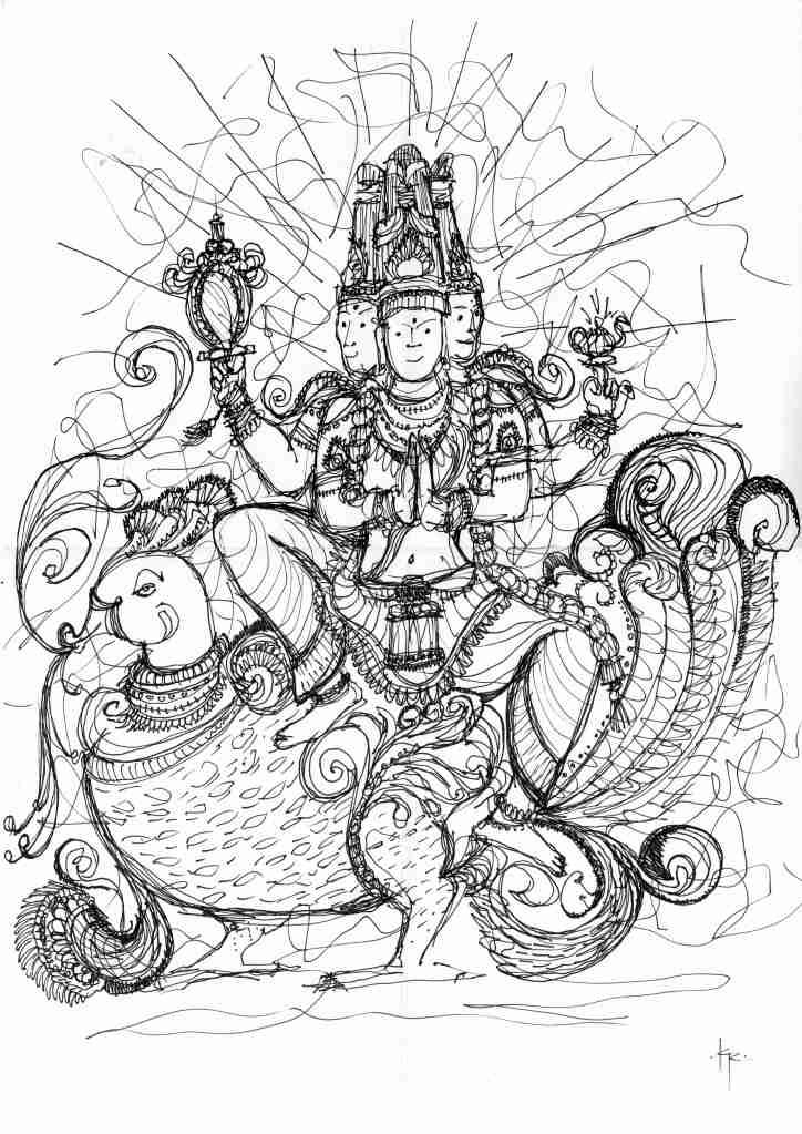 Khmer godess