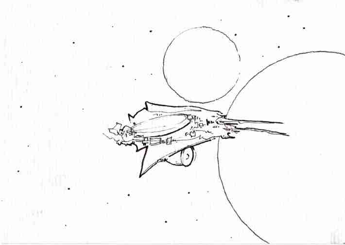 mod space ship