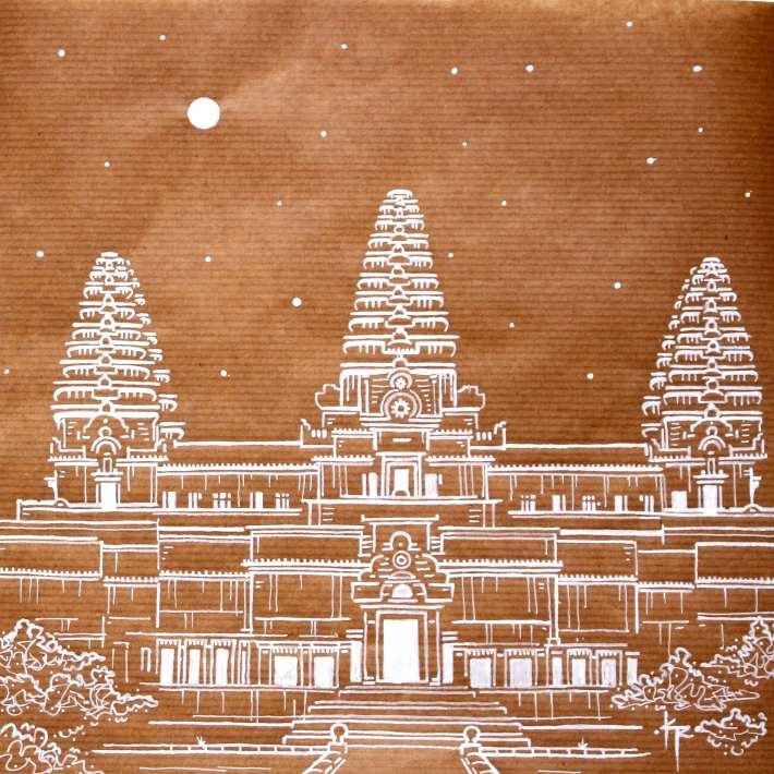 Angkor Wat kevin rouxel