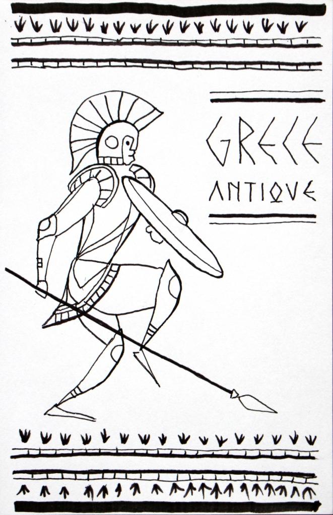 Grèce antique kevin rouxel