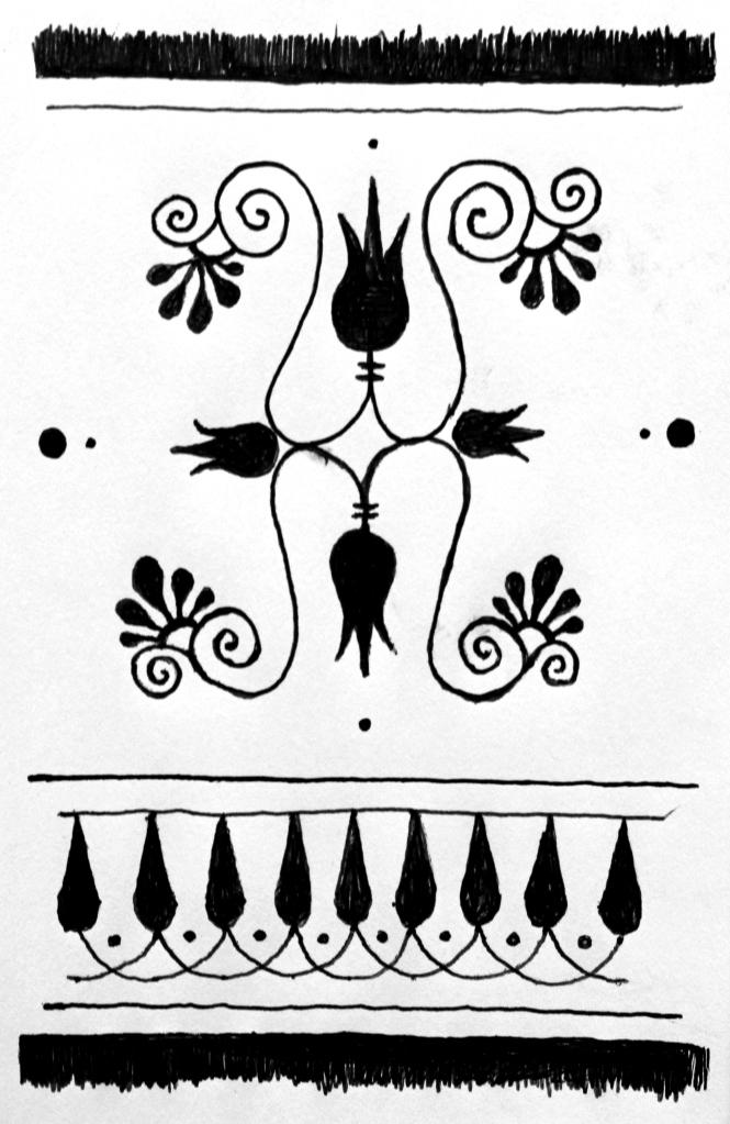motif vase grec kevin rouxel