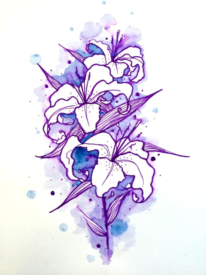Fleur Lys Québec - kevin rouxel